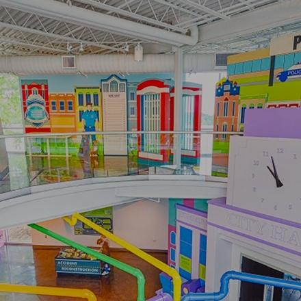 Ravenswood Studio - Illinois Children's Museum - Heroes Hall Exhibit Fabrication