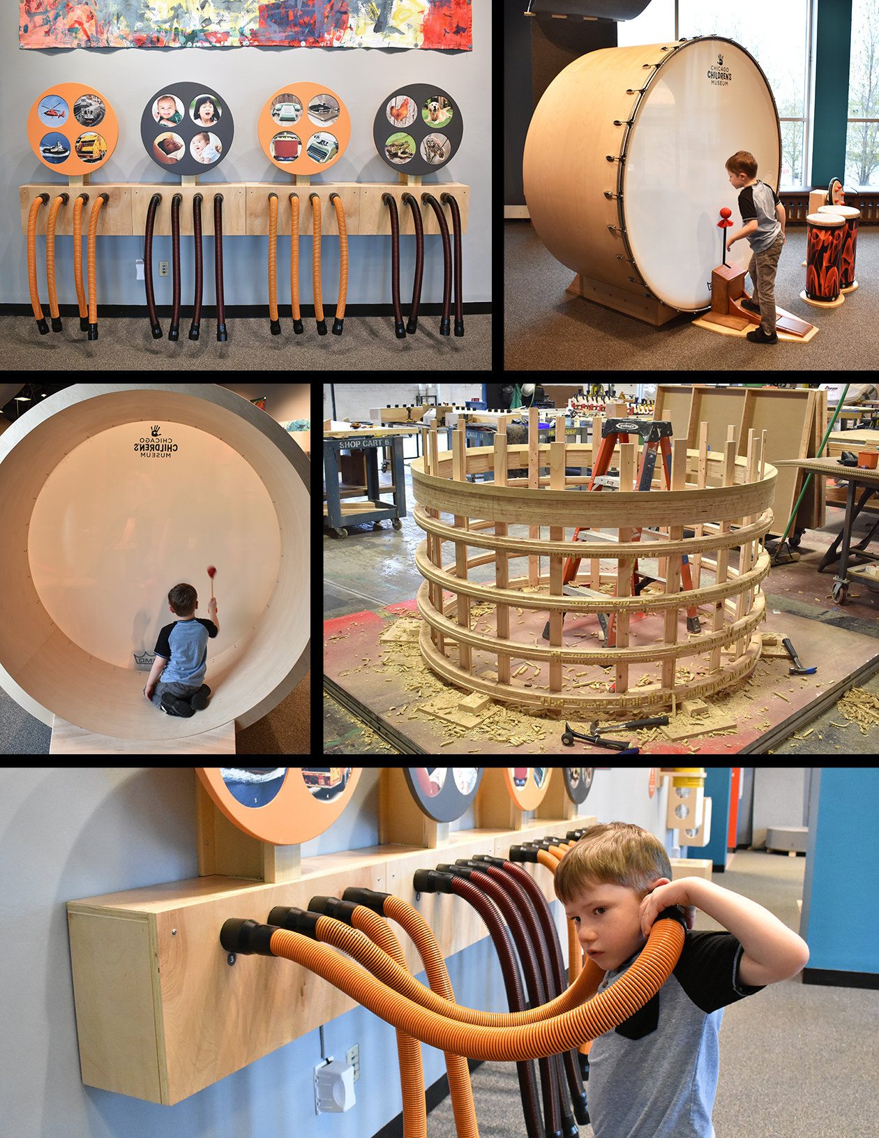 Children's Museum Custom Exhibit Fabrication - Sound-Playground - Ravenswood Studio.jpg