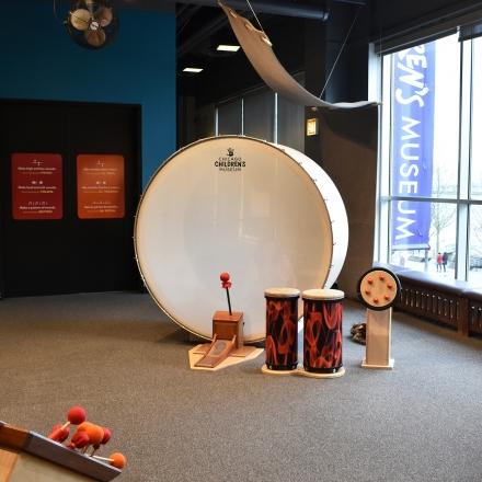 Children's Museum Exhibit Fabrication - Sound Playground - Chicago Children's Museum